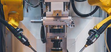 Isola robotizzata di saldatura CMT